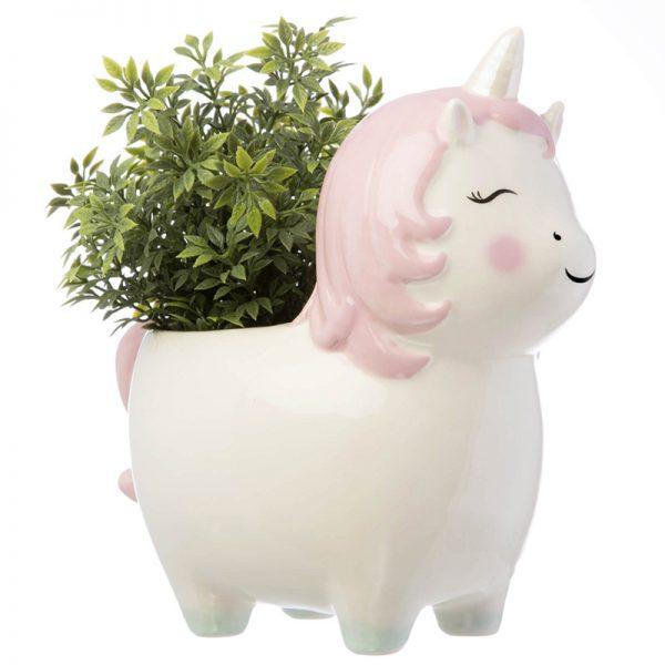 Eco Friendly Kawaii Home - unicorn planter