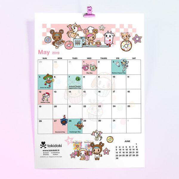tokidoki free printable calendar