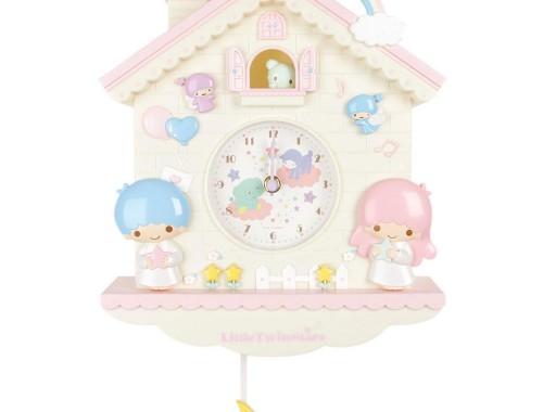 little twin stars clock