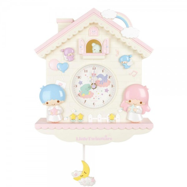 little twin stars clock