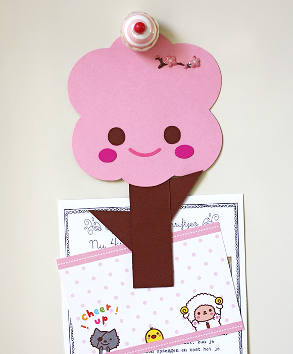 Sakura Cherry Blossom DIY bookmark