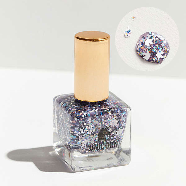 unicorn glitter nail polish