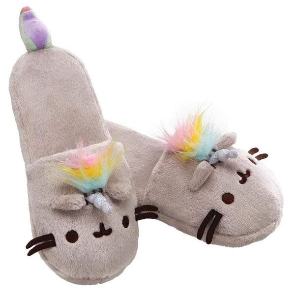 Kawaii Hygge - Pusheenicorn slippers
