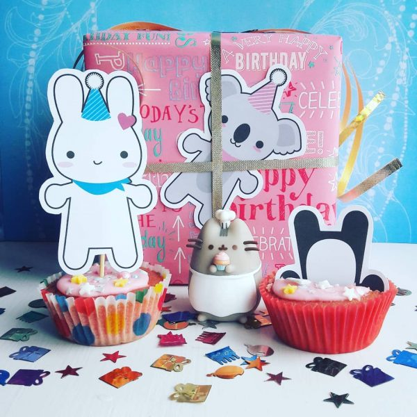 Super Cute Kawaii birthday party frostedribbon