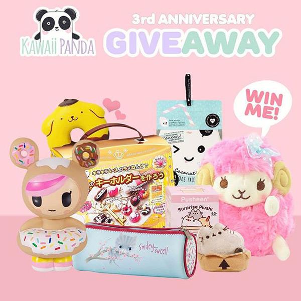 kawaii panda giveaway
