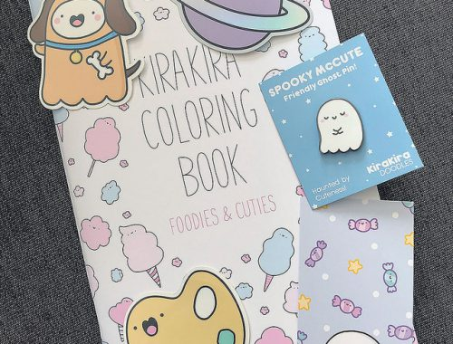 KiraKira Doodles Kawaii Coloring Book Review