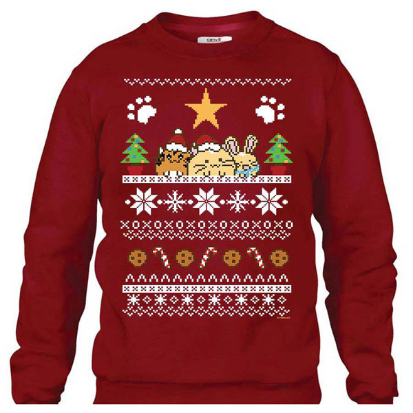 Cute Christmas Jumpers & Sweaters fuzzballs