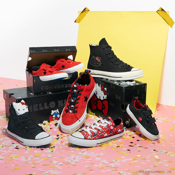 hello kitty x converse shoes