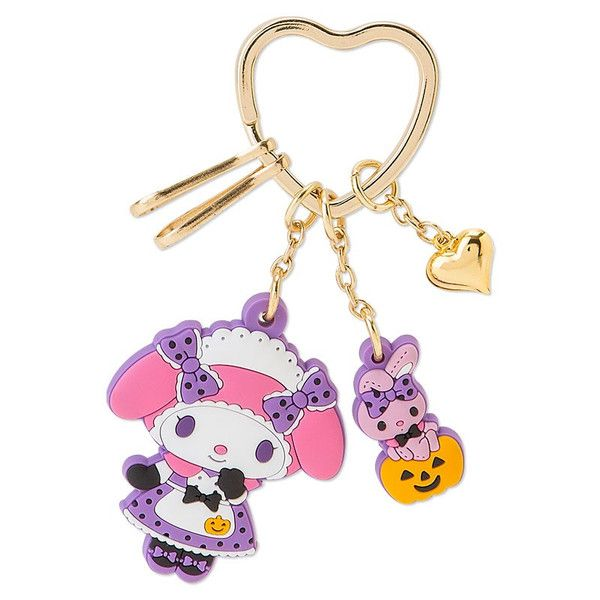 My Melody kawaii Halloween keychain