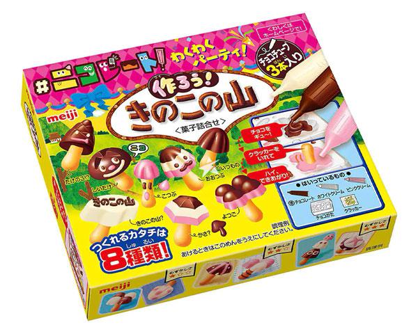 chocolate mushrooms kit