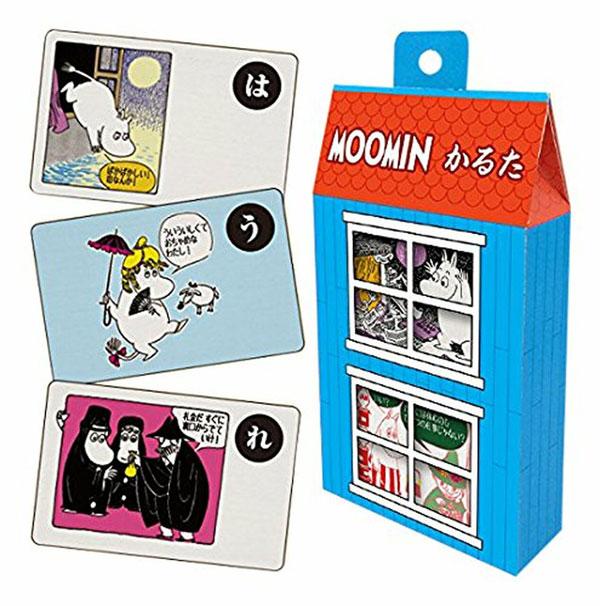Moomins karuta cards