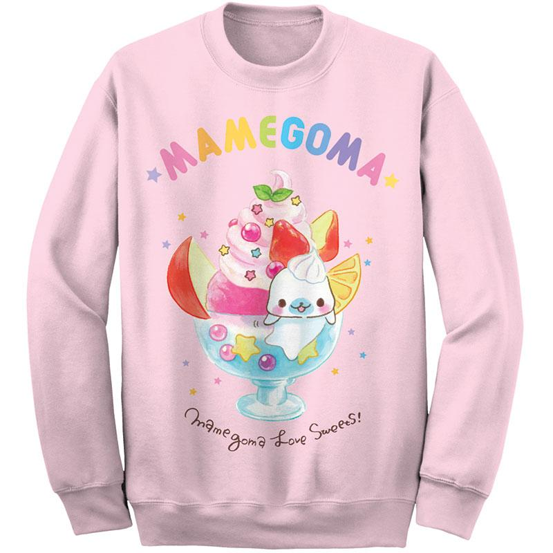 Mamegoma kawaii sweatshirt