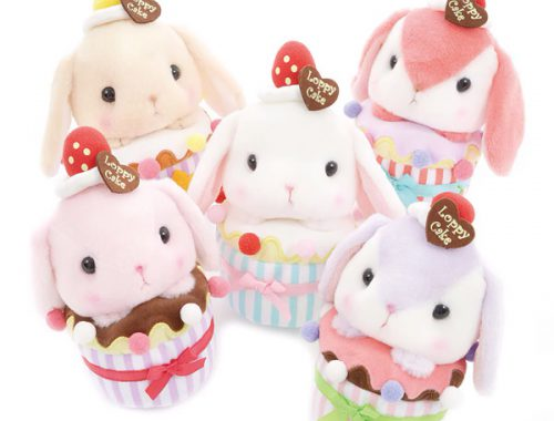 Kawaii Amuse plushies - Loppy bunny