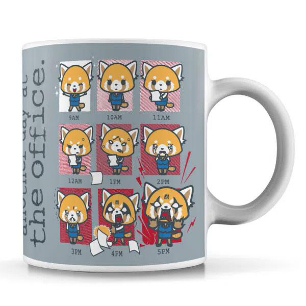 Aggretsuko mug