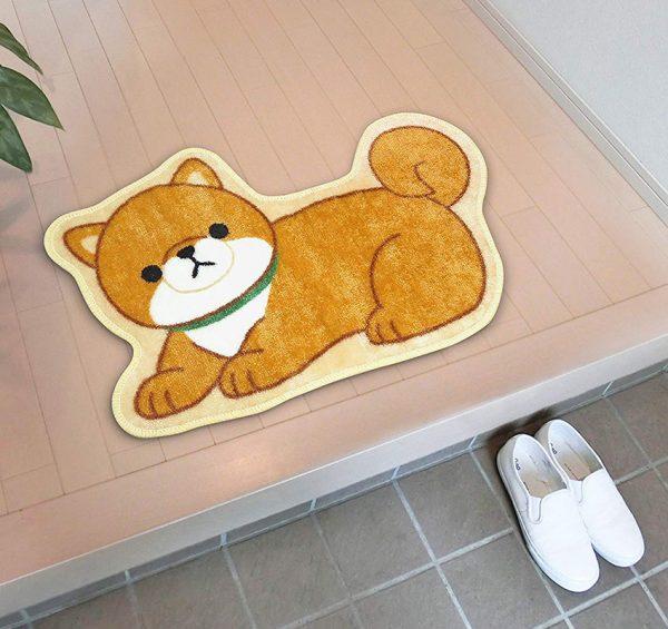 Cute Animal Decorations - shiba inu mat