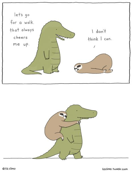 Cute and Positive Affirmations - Liz Climo