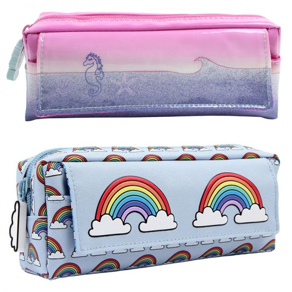 kawaii bathroom accessories - makeup pouches