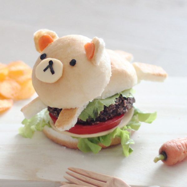 Kawaii Hamburger recipe