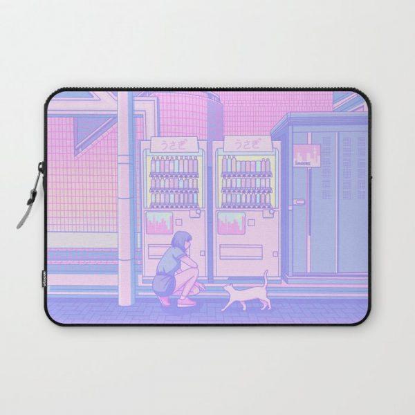 kawaii laptop case