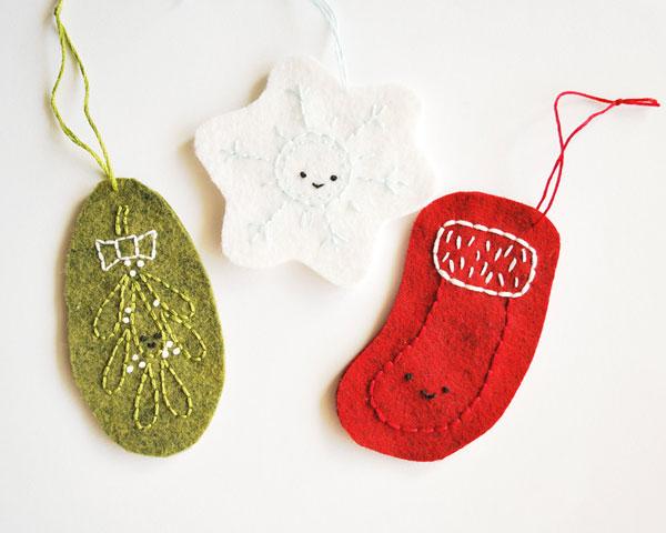 Kawaii DIY Christmas Ornaments