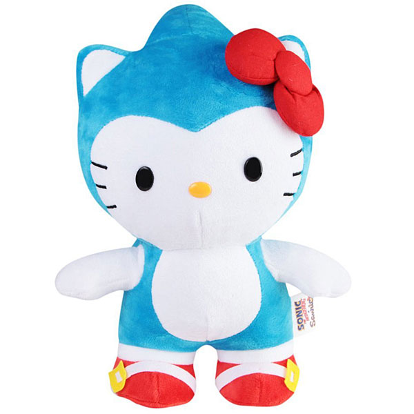 sonic the hedgehog x hello kitty