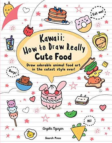 kawaii food drawing book