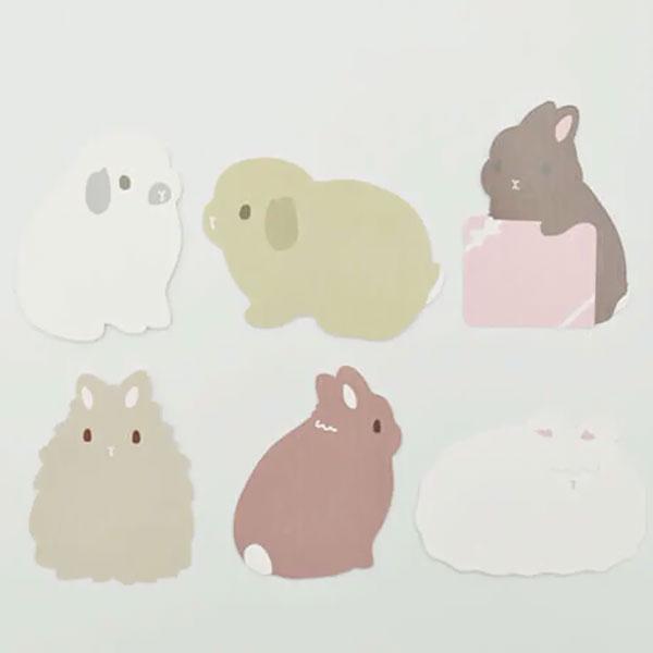 Rebekka Rabbit Design Store - Taiga bunny notes
