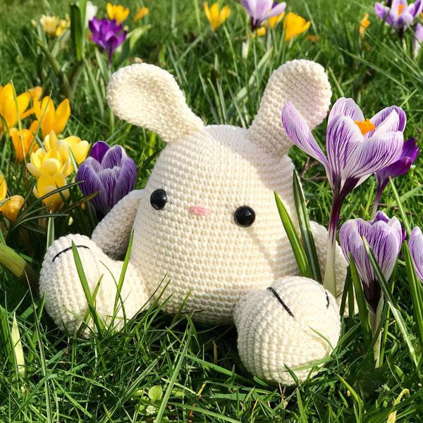 kawaii bunny amigurumi crochet pattern