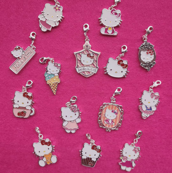 kawaii Hello Kitty charms