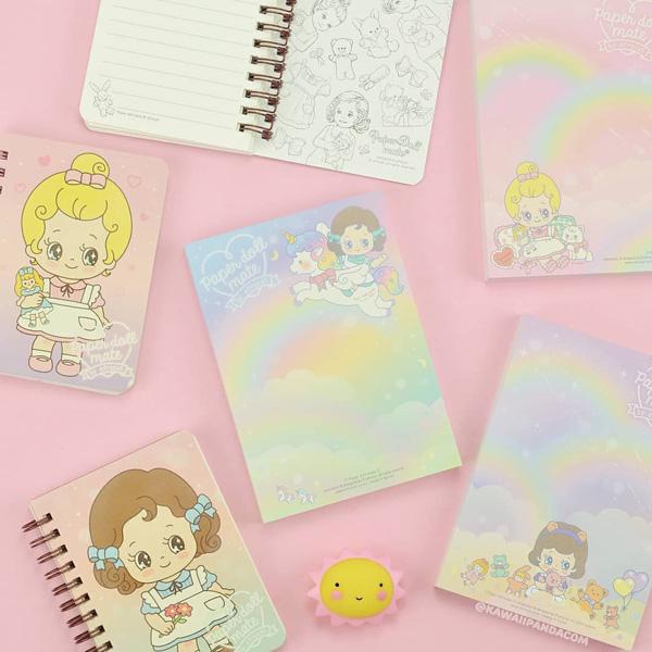 kawaii pastel stationery