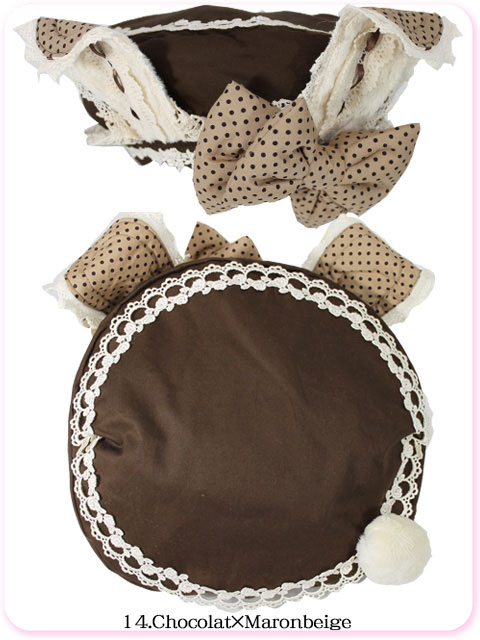 Japanese Lolita fashion rabbit beret