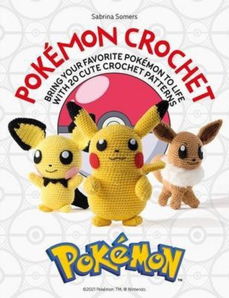 Pokemon Crochet book
