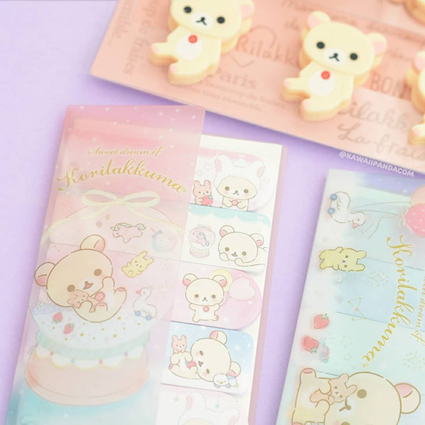 Korilakkuma kawaii stationery