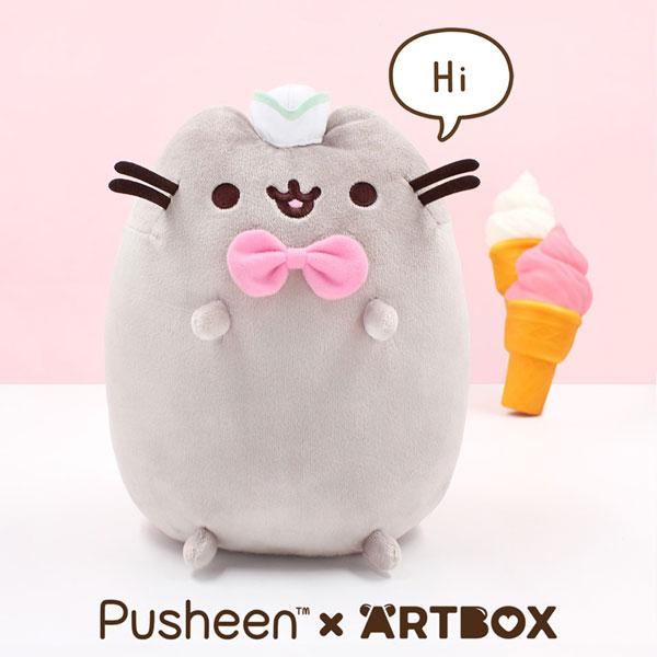 Pusheen x ARTBOX plush
