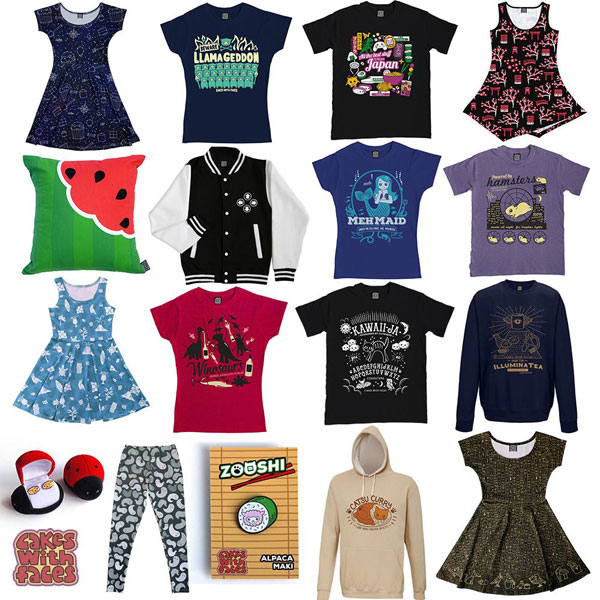 kawaii clothing and accessories