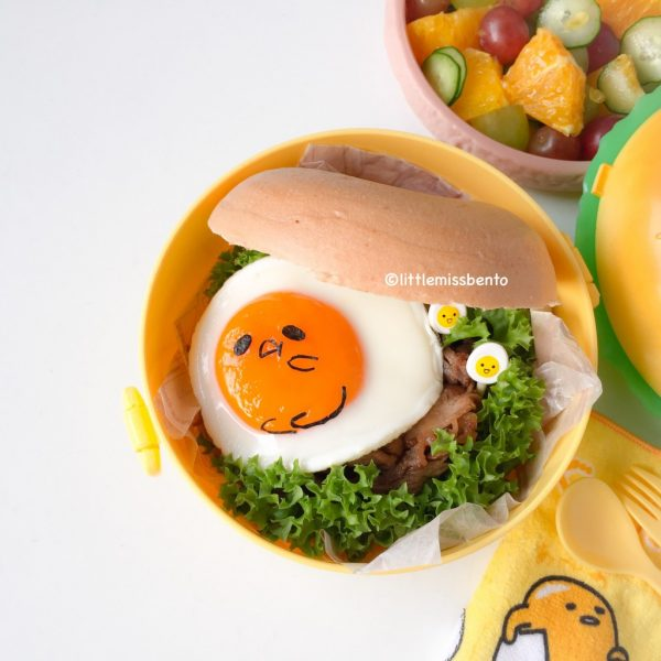 Kawaii Hamburger Gudetama recipe