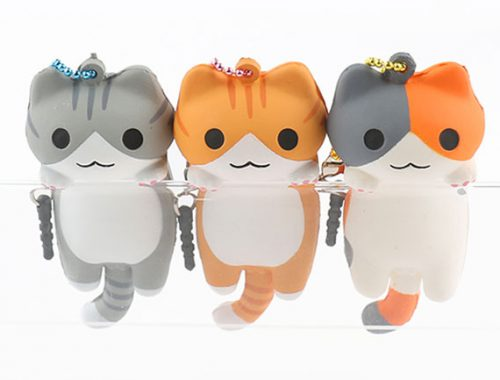 kawaii squishy cats