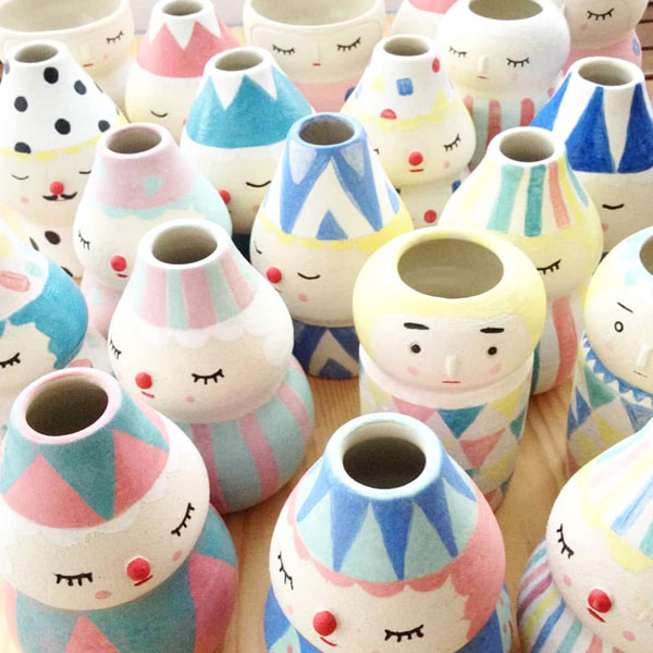 Kawaii Ceramics Artists - Polkaros