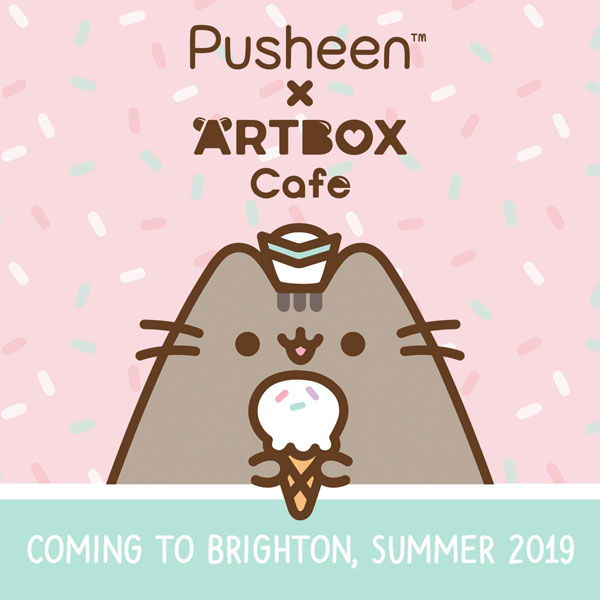 Pusheen x ARTBOX cafe