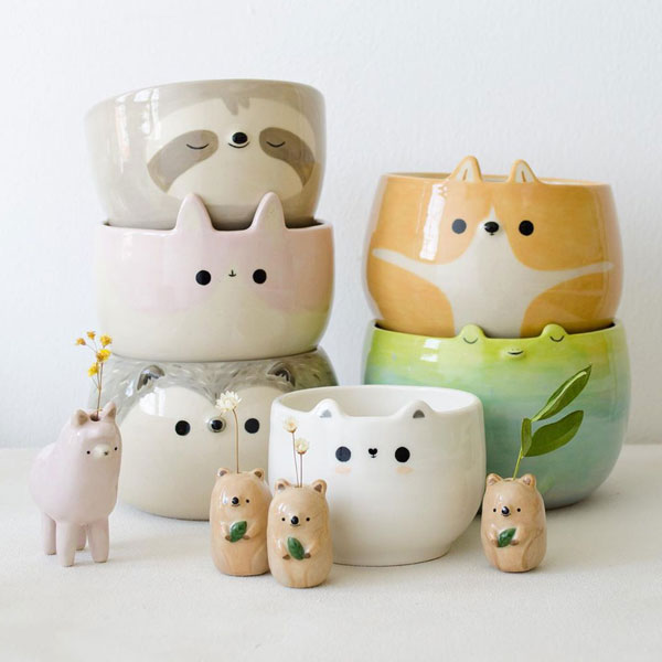 Kawaii Ceramics Artists - Tiny Supply