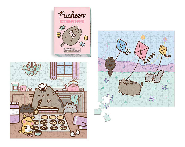 Kawaii Jigsaw Puzzles - Pusheen