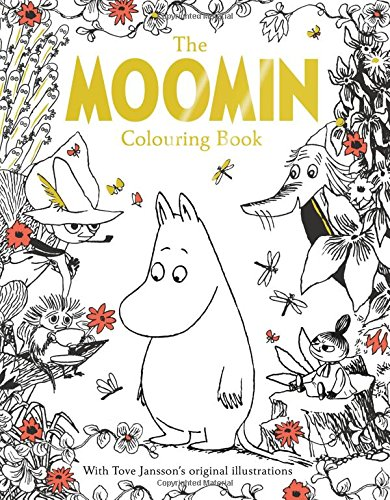 moomins colouring book