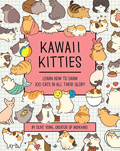 Kawaii Kitties cat drawing book