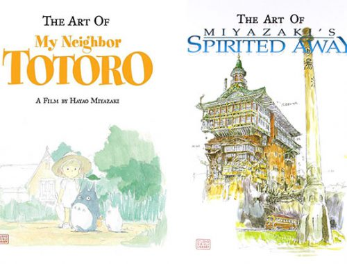Studio Ghibli kawaii art books
