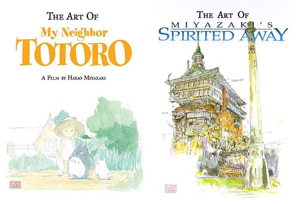 Studio Ghibli kawaii art books