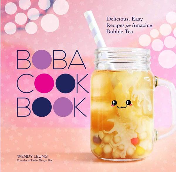 kawaii bubble tea Boba Cookbook