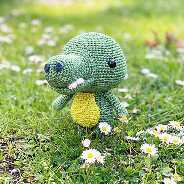 crocodile kawaii amigurumi crochet pattern
