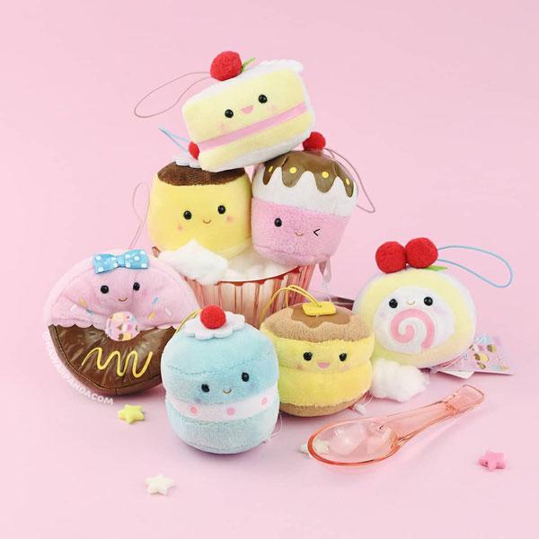 amuse kawaii sweets plush charms