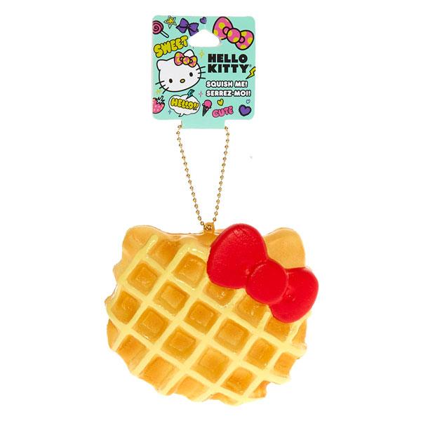 kawaii squishy hello kitty waffle