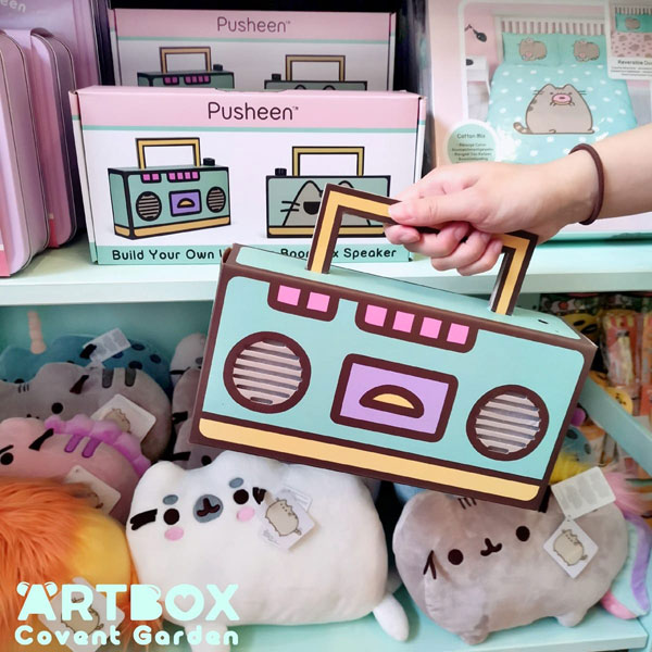 Pusheen boombox bluetooth speaker